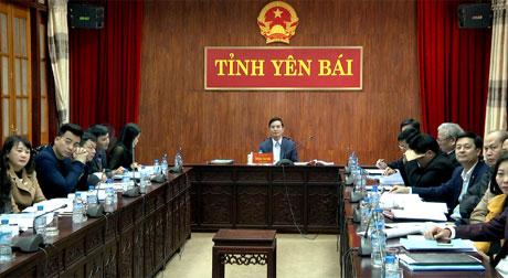 Đồng chí Dương Văn Tiên - Phó Chủ tịch UBND tỉnh Yên Bái dự Hội nghị.