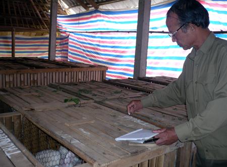 Ông Quang chỉ tiếc rằng mình cón có quá ít thời gian để thực hiện được những dự định  về con thỏ còn đang ấp ủ.