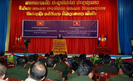 Đồng chí Đỗ Đức Duy - Phó Bí thư Tỉnh ủy, Chủ tịch UBND tỉnh Yên Bái phát biểu tại Lễ kỷ niệm.
