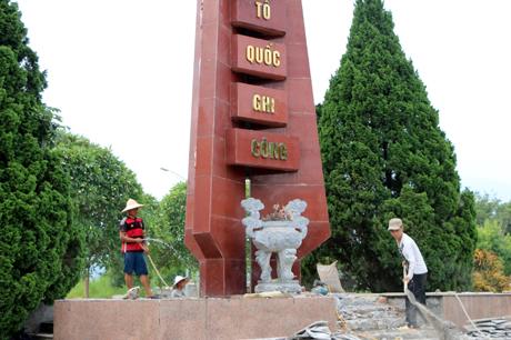 """Công trình """"Cải tạo, nâng cấp Nghĩa trang liệt sỹ huyện"""