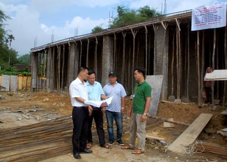 Công trình nhà làm việc của khối đoàn thể và nhà văn hóa xã Nghĩa Tâm, huyện Văn Chấn được khởi công từ tháng 7/2017 và dự kiến sẽ hoàn thành trong tháng 11/2017.