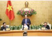 Bộ trưởng, Chủ nhiệm Văn phòng Chính phủ Mai Tiến Dũng chủ trì hội nghị.