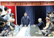 Bộ trưởng Bộ Giao thông Vận tải Nguyễn Văn Thể, Phó Chủ tịch thường trực Ủy ban An toàn giao thông Quốc gia phát biểu tại cuộc họp.