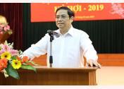 Ủy viên Bộ Chính trị, Bí thư Trung ương Đảng, Trưởng Ban Tổ chức Trung ương Phạm Minh Chính.