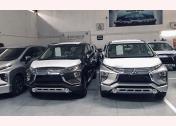 Mitsubishi chờ giao khách tại một showroom. Doanh số tháng 1 của mẫu MPV Nhật Bản đứng thứ 9 toàn thị trường.
