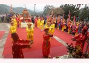 Hội Đền Phúc Hòa, xã Hán Đà (Yên Bình)  Ảnh MQ