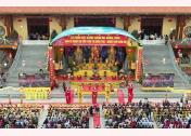 Quang cảnh Lễ khai hội Xuân Chùa Ba Vàng năm 2019.