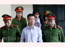 Bị cáo Phan Sào Nam khi đến tòa hồi tháng 11/2018.