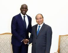 Thủ tướng Nguyễn Xuân Phúc tiếp ông Makhtar Diop, Phó Chủ tịch Ngân hàng Thế giới.