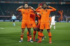Đội tuyển Hà Lan tiếp tục gây ấn tượng dưới thời HLV Koeman