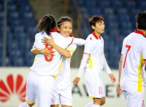 Đội tuyển nữ Việt Nam có cơ hội lớn góp mặt tại sân chơi World Cup