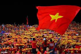Người hâm mộ được đến sân theo dõi tuyển Việt Nam đá vòng loại World Cup 2022.