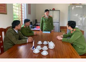 Công an xã Đồng Khê triển khai nhiệm vụ đấu tranh phòng chống ma túy trên địa bàn.