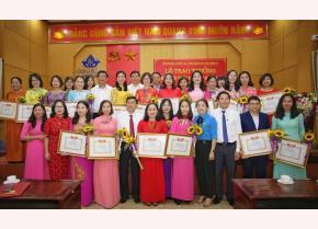 Các giáo viên tài năng của tỉnh Nghệ An được khen thưởng, tôn vinh. ảnh minh họa