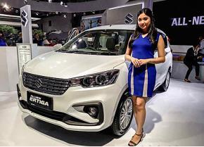 Suzuki Ertiga mới tại triển lãm IIMS, Indonesia 2019.