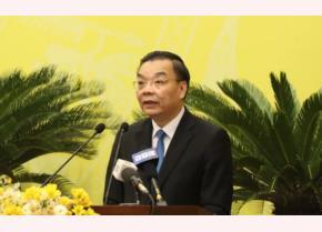Phó Bí thư Thành ủy, Chủ tịch UBND thành phố Hà Nội Chu Ngọc Anh.