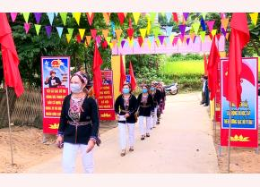 Wards, villages of the locality brighten with colourful decorations to welcome the big festival.