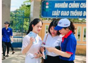 Hoạt động tiếp sức mùa thi tại Quảng Nam