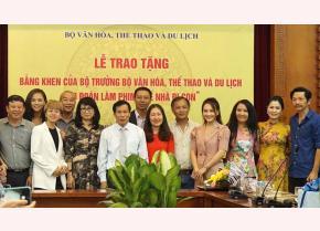 Bộ trưởng Bộ VHTT&DL Nguyễn Ngọc Thiện dành nhiều lời khen ngợi cho đoàn phim