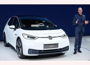 Volkswagen giới thiệu mẫu xe điện mới ID.3.