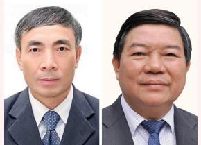 Ông Nguyễn Quốc Anh (phải) và ông Nguyễn Ngọc Hiền