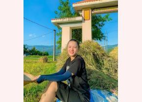 """Bùi Thị Giang quyết định """"bỏ phố về quê"""" để thực hiện ước mơ của mình."""
