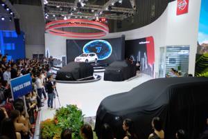 VMS 2018 là triển lãm lớn nhất về ôtô tại Việt Nam.