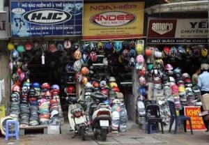 Nghị định số 87 quy định, doanh nghiệp sản xuất mũ bảo hiểm có diện tích mặt bằng phù hợp với quy mô sản xuất; có kho chứa phù hợp...