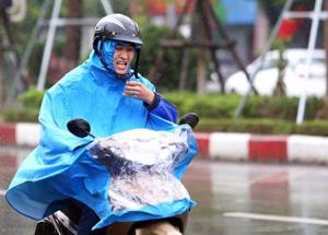 Hà Nội sáng 12/12 trời mưa rét.