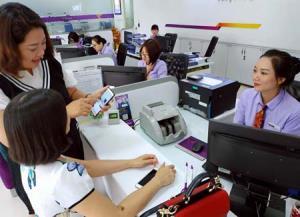 Giao dịch điện tử trong hoạt động nghiệp vụ ngân hàng đang ngày càng phổ biến.