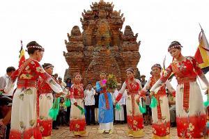 Lễ hội Kate của tỉnh Ninh Thuận.