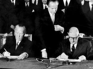 Hiệp ước hợp tác Pháp-Đức (còn gọi là Hiệp ước Elysee) ký kết năm 1963.
