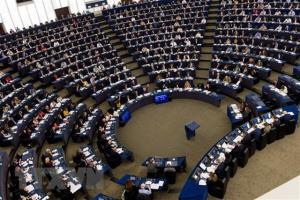 Một cuộc họp của Nghị viện châu Âu.