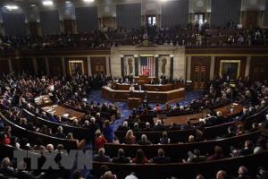 Toàn cảnh một phiên họp Quốc hội Mỹ.