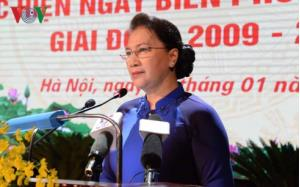 Chủ tịch Quốc hội phát biểu tại Hội nghị