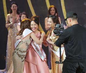 Mrs Việt Nam giây phút đăng quang