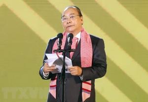 Thủ tướng Nguyễn Xuân Phúc phát biểu tại buổi khai mạc lễ hội.