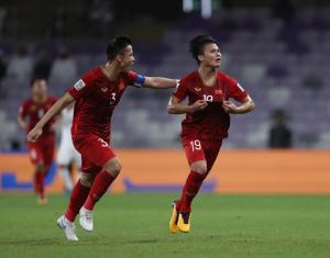 Quang Hải và Quế Ngọc Hải mang chiến thắng về cho Việt Nam.