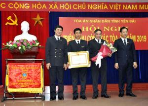TAND tỉnh Yên Bái vinh dự được nhận Bằng khen của Thủ tướng Chính phủ.