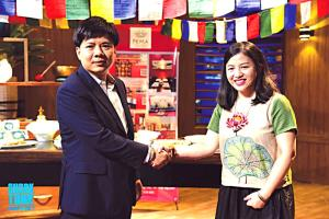 Lâm Hoài được Chủ tịch Tập đoàn Egroup, Tổng Giám đốc Công ty cổ phần Anh ngữ Apax Nguyễn Ngọc Thủy đồng ý đầu tư 3 tỷ đồng cho thương hiệu Pema.