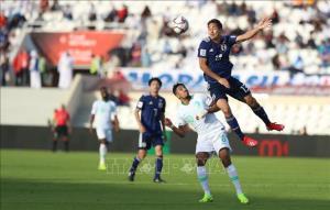 Trận đấu giữa các cầu thủ Nhật Bản và cầu thủ  Saudi Arabia tối 21/1.