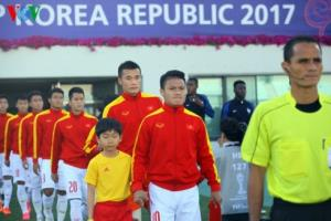 Quang Hải, Tiến Dũng, Đình Trọng, Văn Hậu là những nhân tố nổi bật trong lứa cầu thủ 1997-1999 của bóng đá Việt Nam.