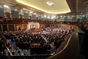 Toàn cảnh một phiên họp Quốc hội Mỹ tại Washington DC.