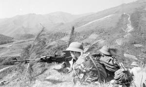 Chiến sỹ Đại đội 1, Tiểu đoàn 1, Đoàn M123 bộ đội Lạng Sơn chiến đấu dũng cảm, tiêu diệt hàng trăm tên địch tại đồi Không Tên trong 2 ngày 17-18/2/1979