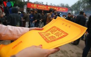 Đảm bảo đủ số lượng ấn phát ra cho nhân dân và du khách thập phương.
