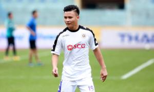 Quang Hải được HLV Chu Đình Nghiêm cho nghỉ trận Siêu Cup Quốc gia gặp Bình Dương hôm 16/2 dưỡng sức cho trận gặp Sơn Đông.
