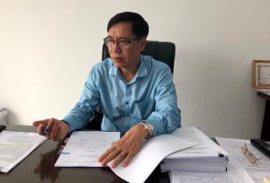 Ông Đặng Quang Tấn, Phó Cục trưởng Cục Y tế dự phòng, Bộ Y tế.