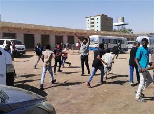 Người biểu tình phản đối Chính phủ tại Khartoum, Sudan, ngày 13/1/2019.