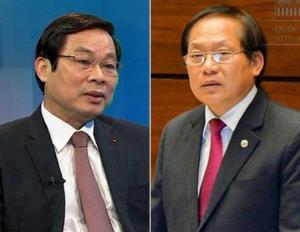 Ông Nguyễn Bắc Son và ông Trương Minh Tuấn.