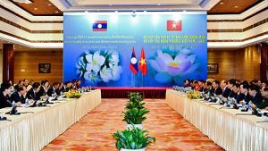 Kỳ họp lần thứ 41 Ủy ban liên Chính phủ Việt Nam - Lào diễn ra vào tháng 1 vừa qua.